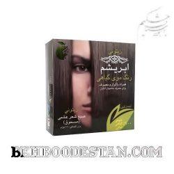 رنگ موی گیاهی ابریشم – زیتونی / طب سنتی